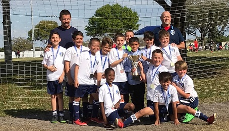 U11 Boys Win Largo Tournament